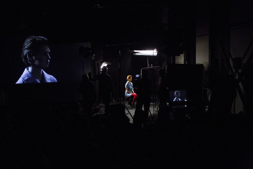 Фотоотчет о лекции Буона в Александринке