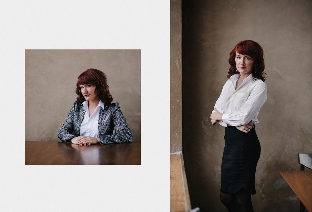 Бизнес-портреты для сотрудников TNS